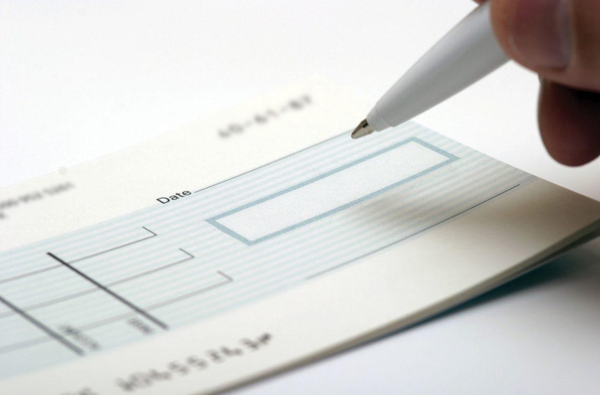 Получение банковских чеков
