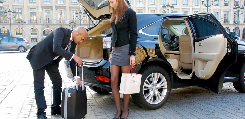 Встреча клиента в аэропорту